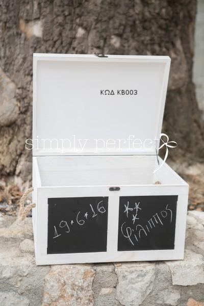 Κουτί βαπτιστικών: ΚΩΔ ΚΒ003