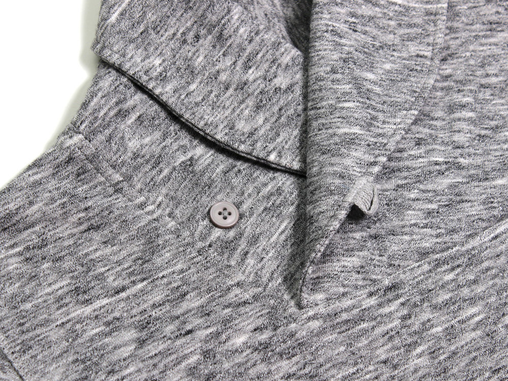 Darwin Shawl Collar Pullover - Grey