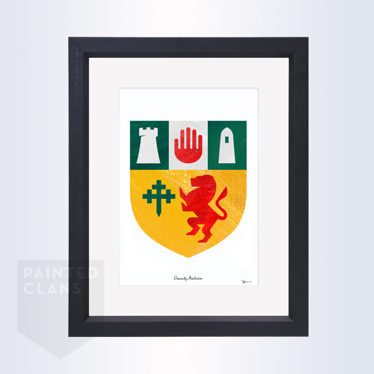 Antrim county crest