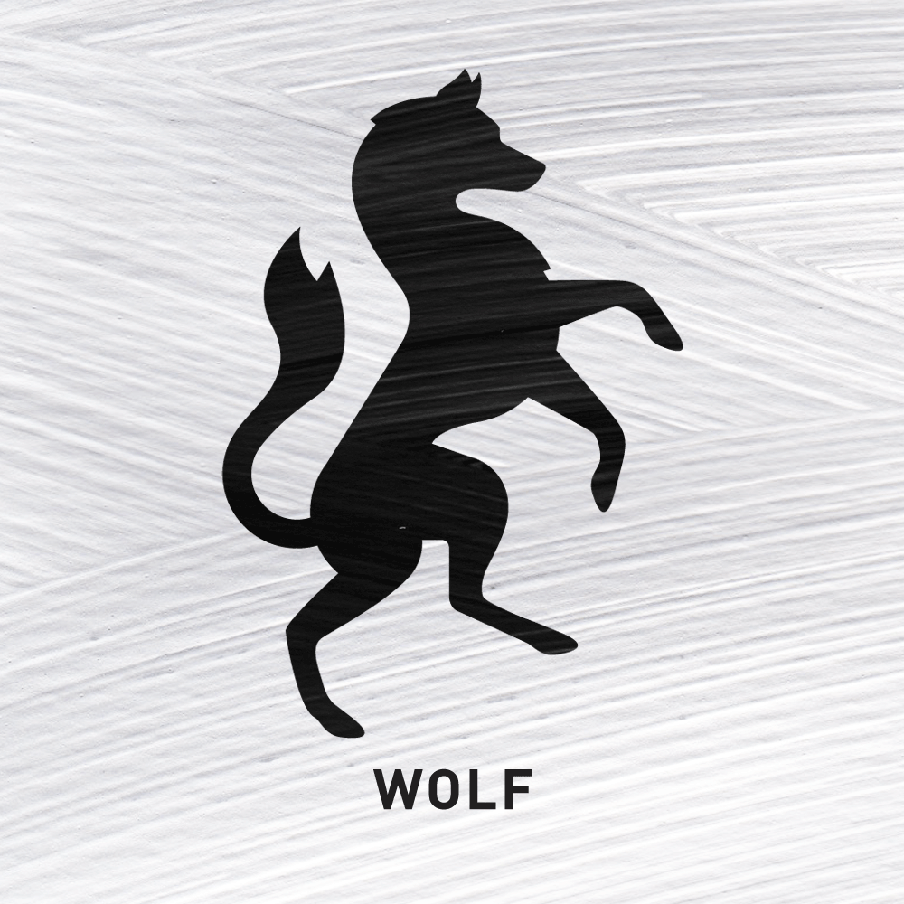 Wolf Perseverance   Symbolising the rewards of perseverance in long sieges or industry