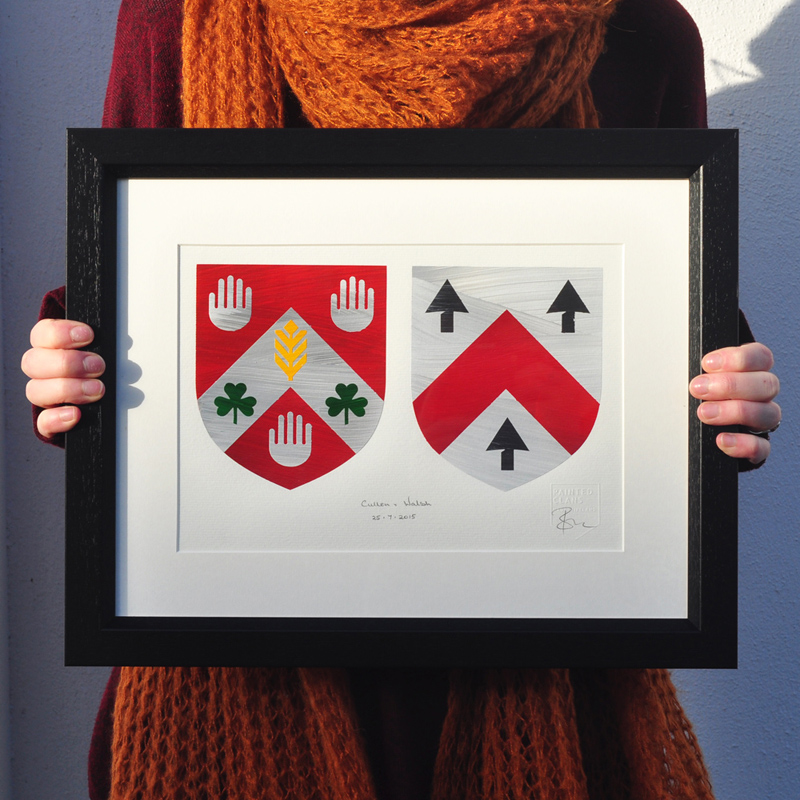 Wedding Gift. Coat of Arms