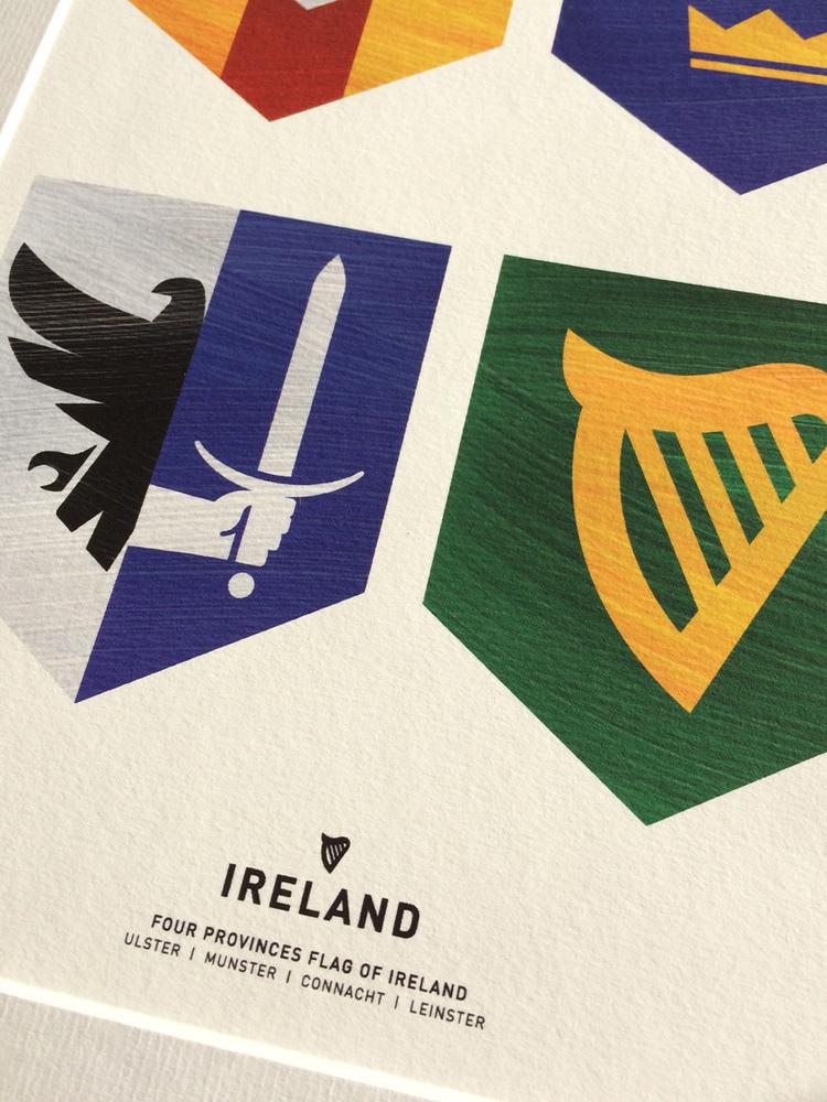 Ireland Four Provinces