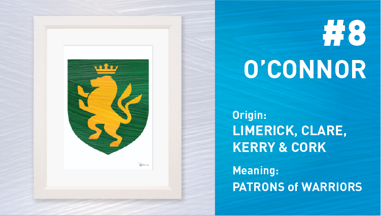 O'Connor Coat of Arms - Painted Clans