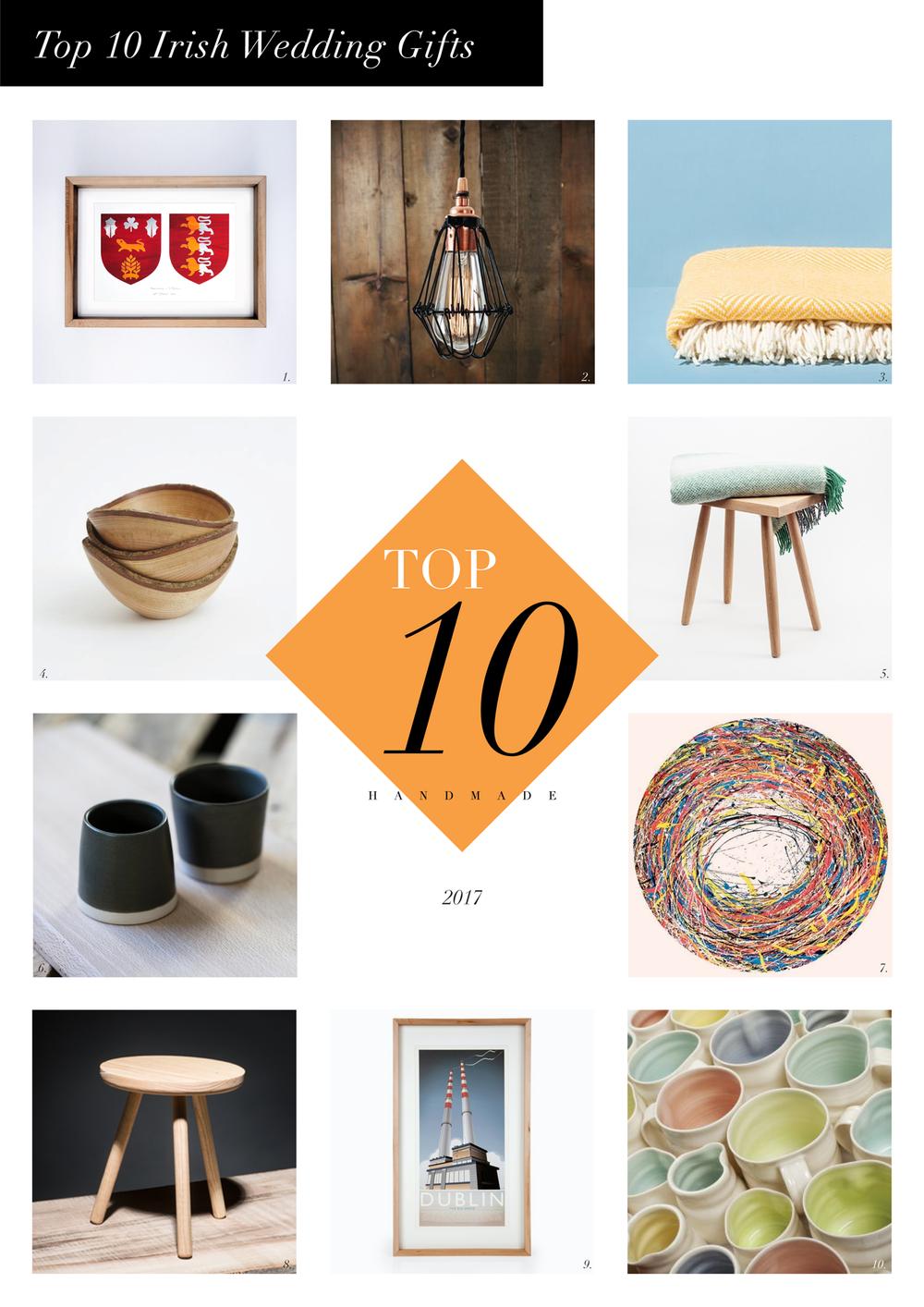 Top 10 Irish Wedding Gifts