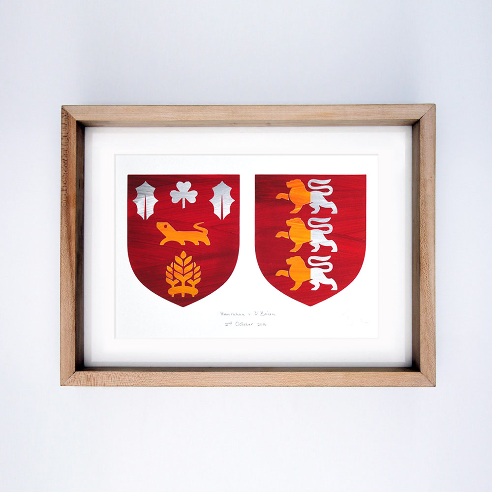Double Coat of Arms - Wedding Gift