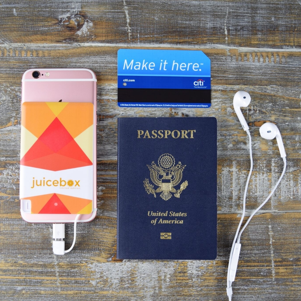 Juicebox :: Convenient portable phone charger to keep you going