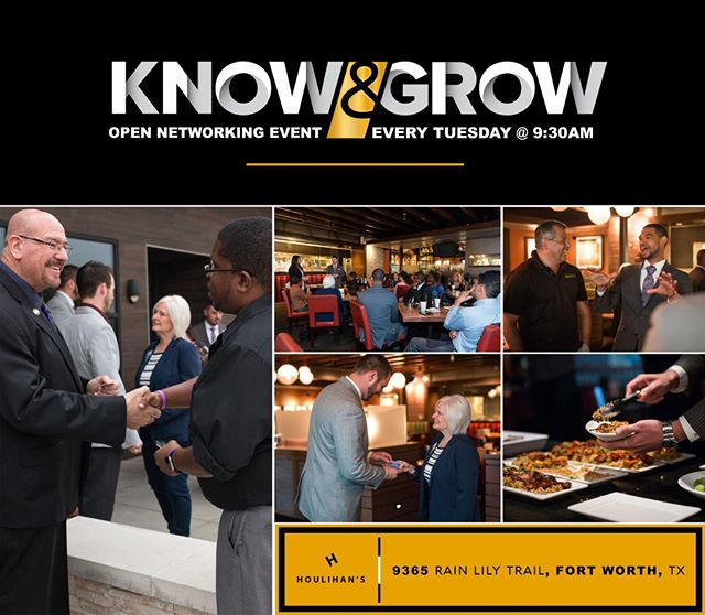 Join us for local business networking every Tuesday @ 9:30 AM, Know & Grow of ATC! #BusinessDevelopment www.empiredevelopmentgroup.net