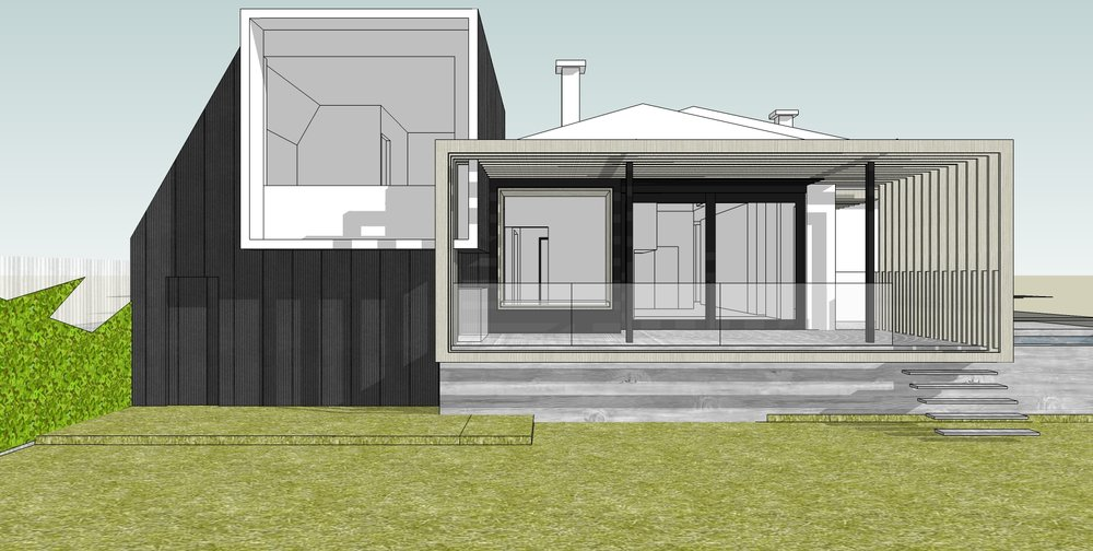 Frame House | 3D image: OOF! architecture