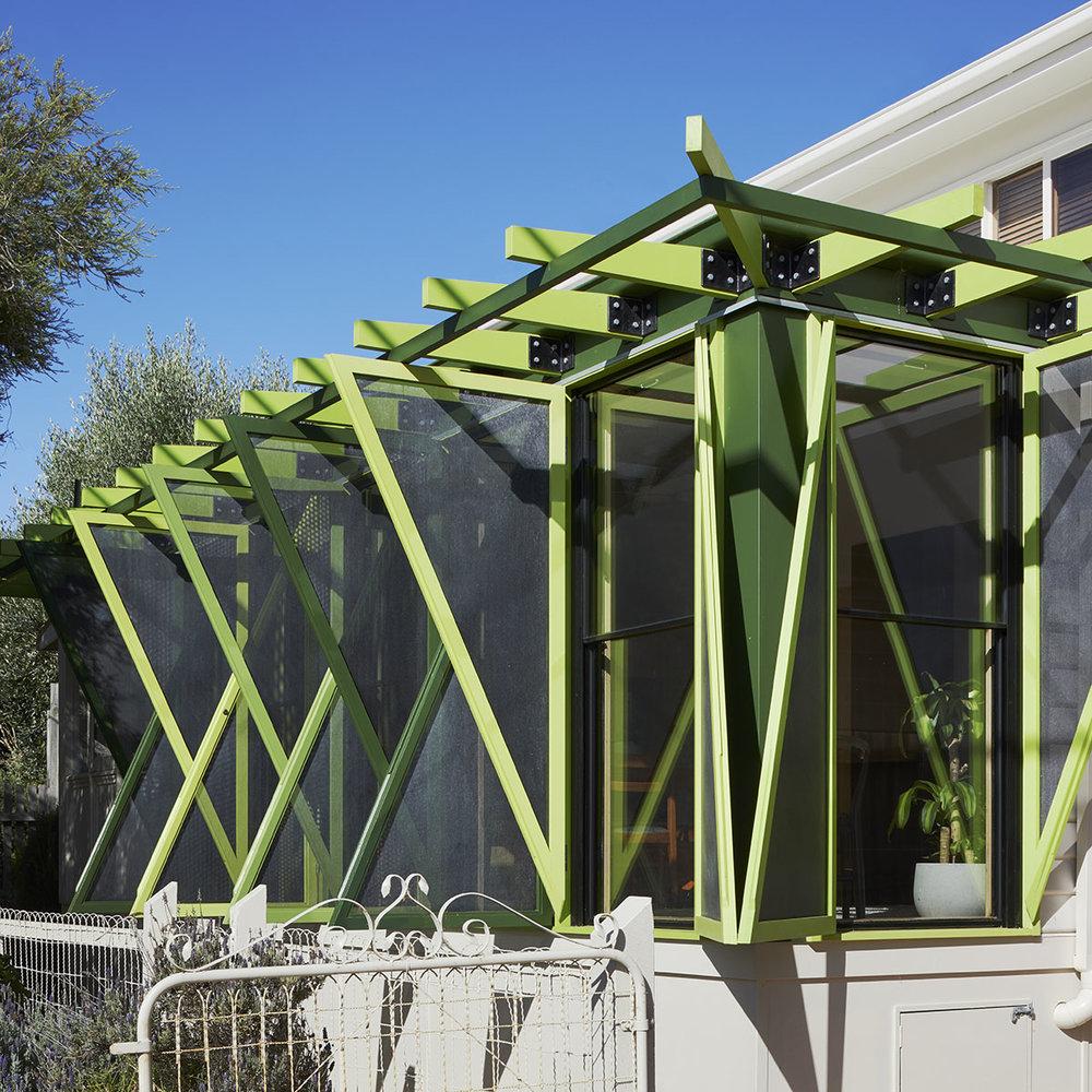 Green Shutter House | Photograph | Tatjana Plitt