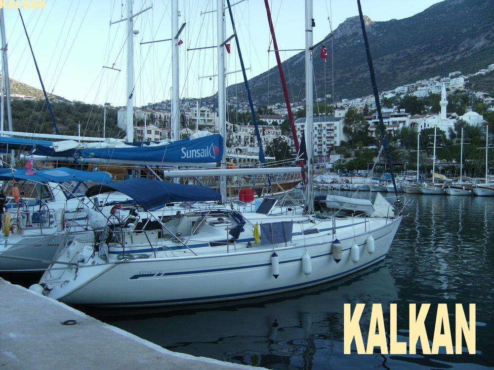 Ploes in Kalkan harbour