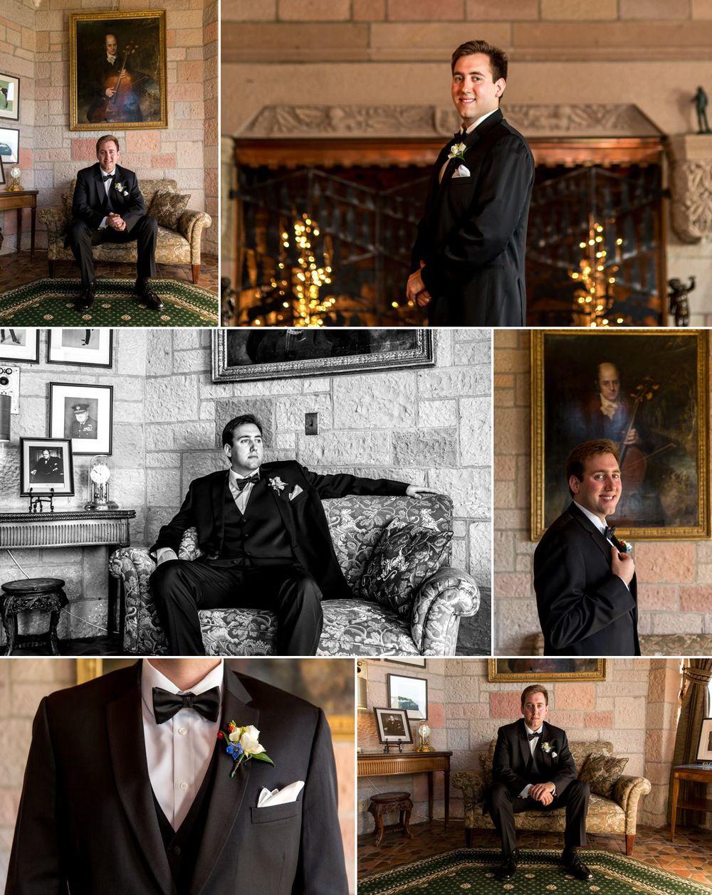 Handsome groom before his big debut!