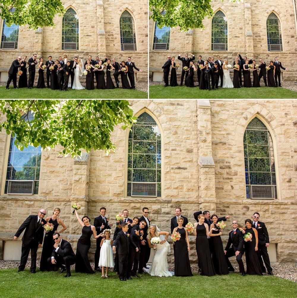 Gorgeous wedding party!!