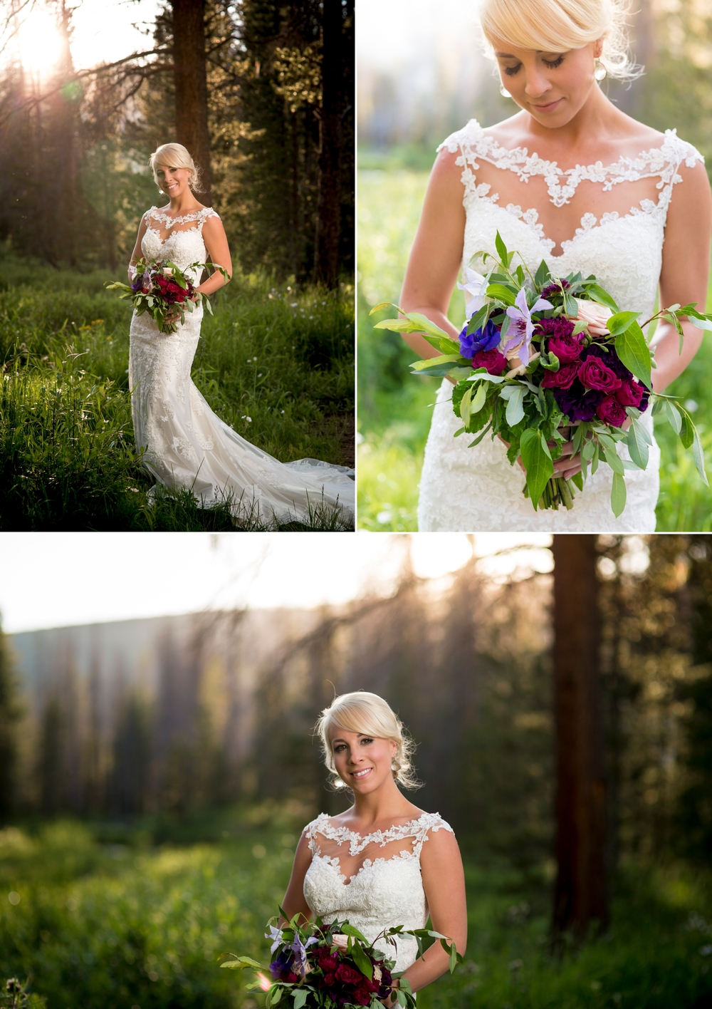 Piney River Ranch, Vail, CO - Dress from Dora Grace Bridal by Miss Stella York