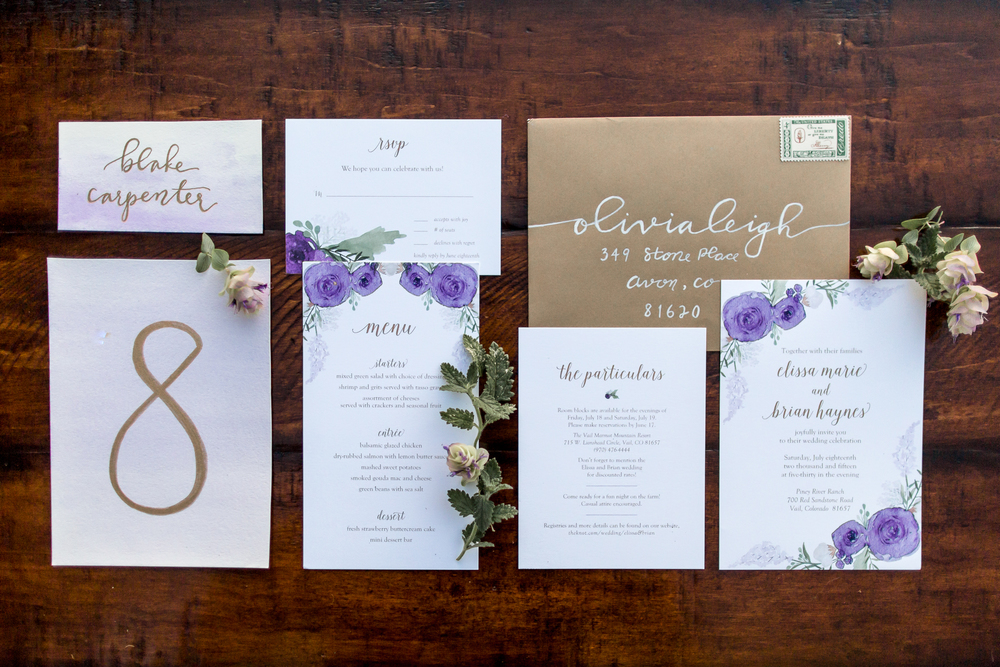 Stationery by Sage Paper, Co.
