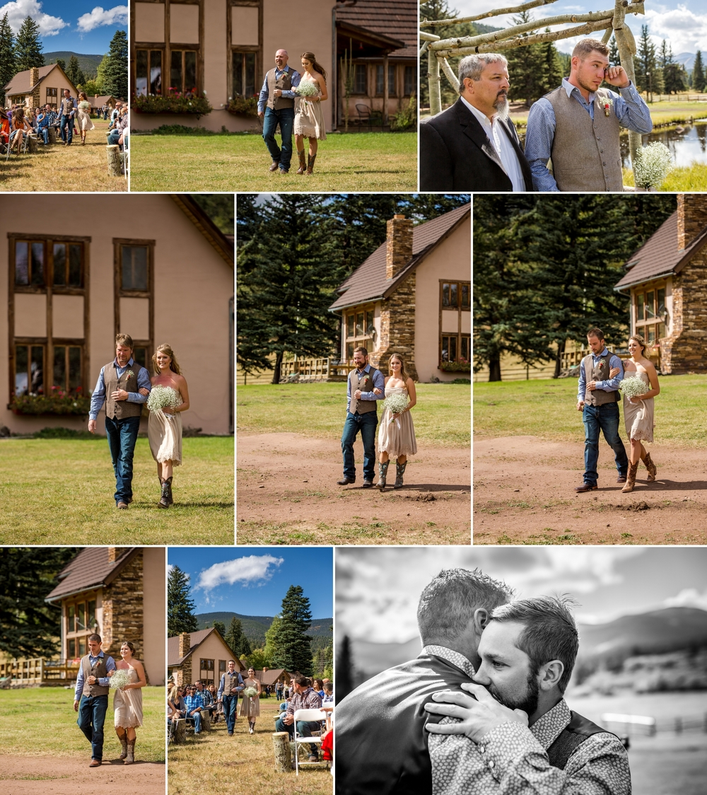 Yellow Pines Ranch Wedding - by Aldabella Photography