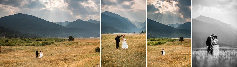 Rocky Mountain National Park, Estes Park Colorado Wedding