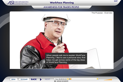 WorkFace Planning Awareness Online Training