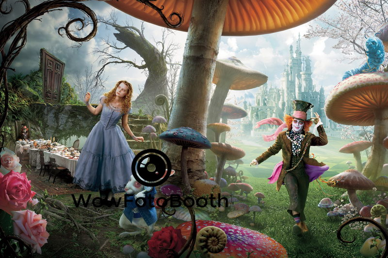 Alice In Wonderland Wowfotobooth Bay Area Best Photo Booth