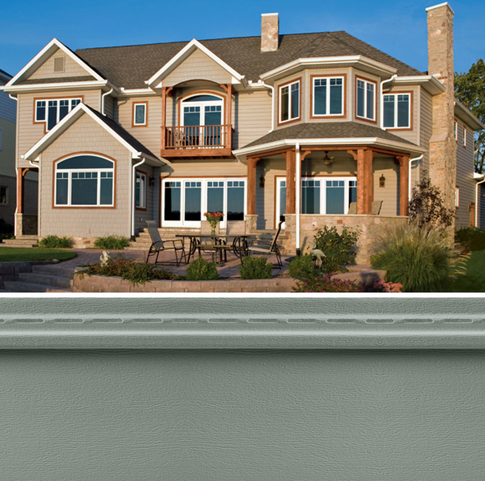 Premium Low-Maintenance Home Siding, Mastic Siding