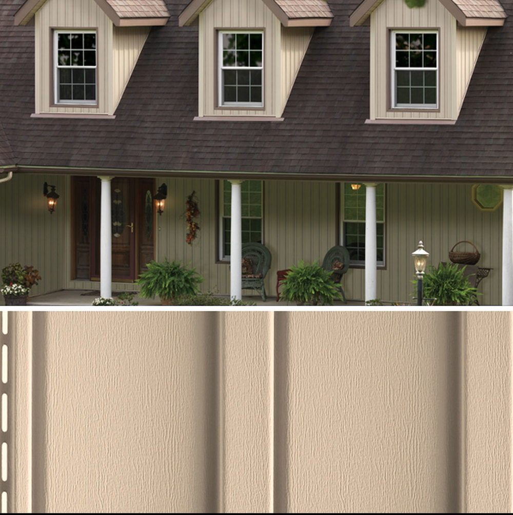 Mastic Vertical Siding