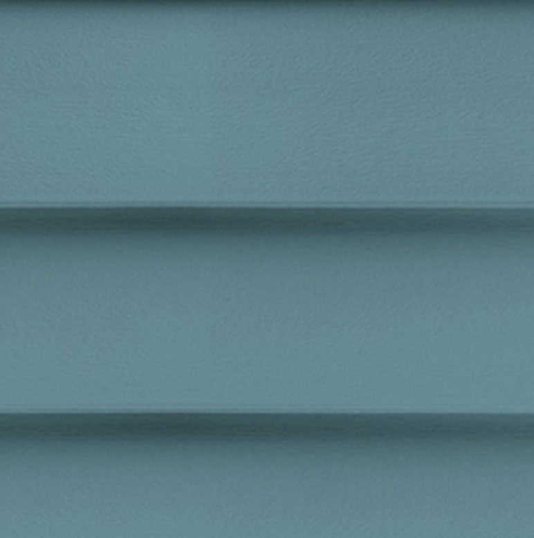 Blue Mastic Horizontal Siding