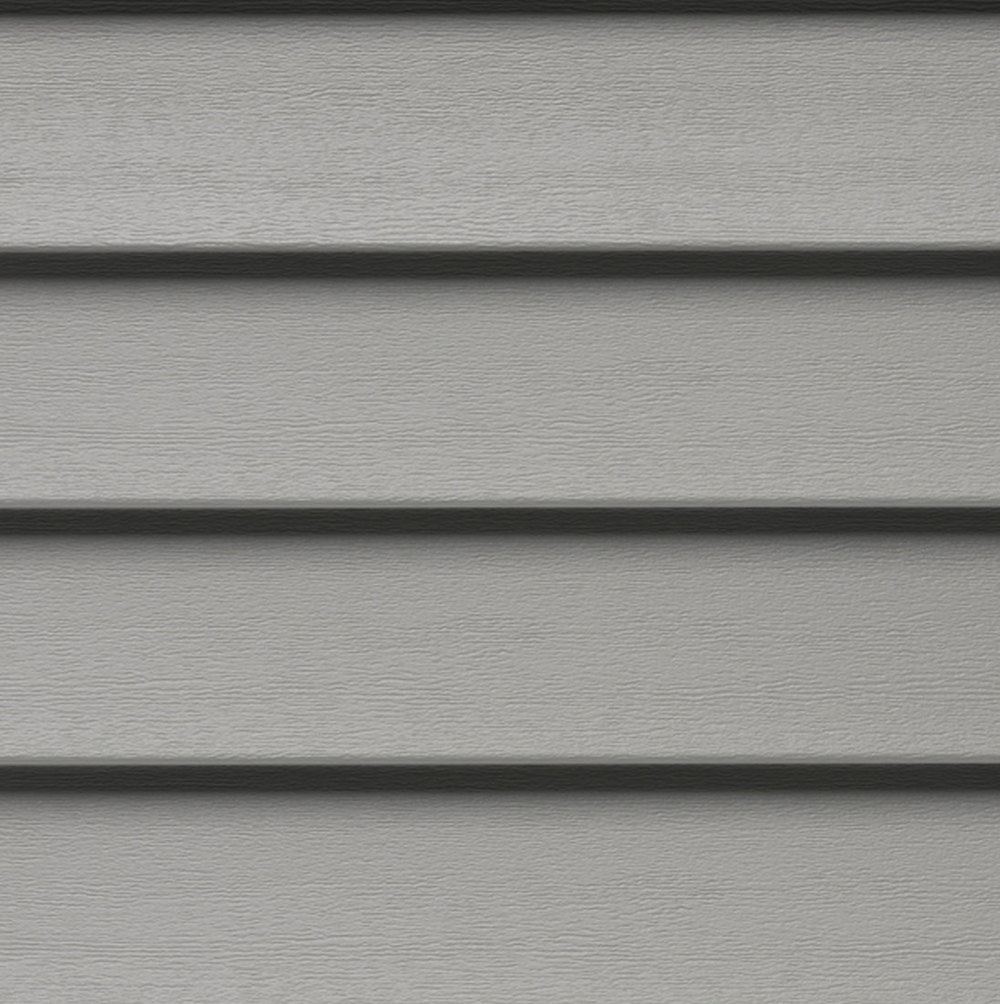 Gray Mastic Horizontal Siding
