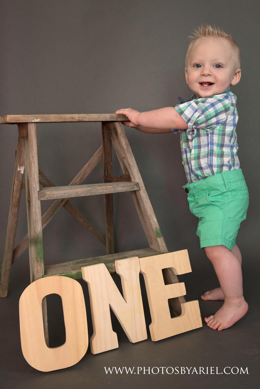 first birthday little boy