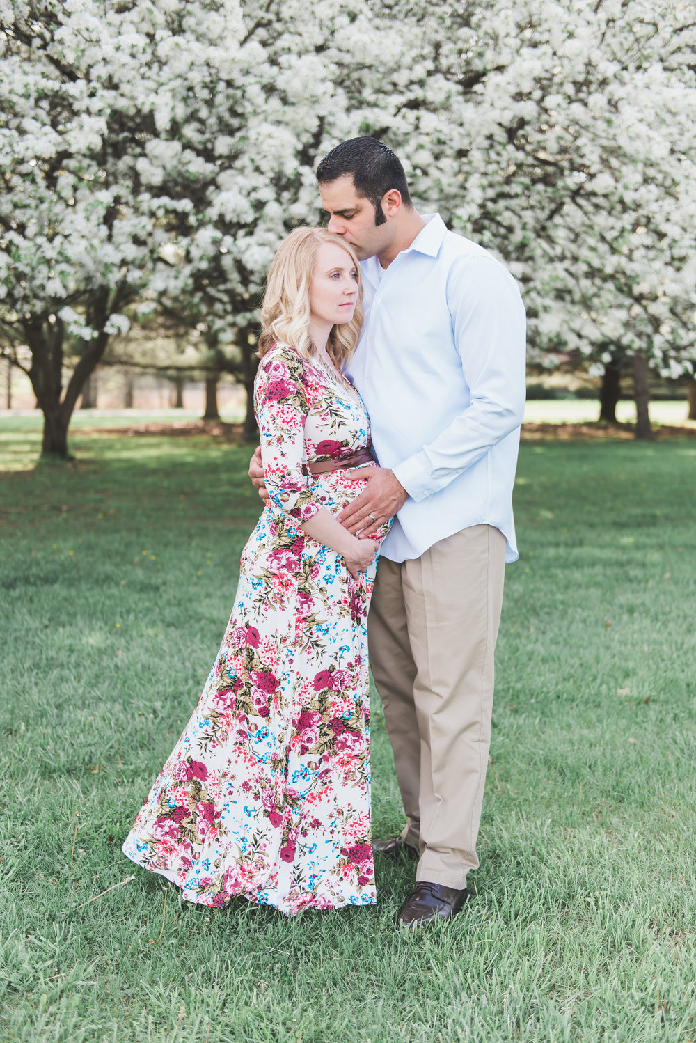 Maxi Dress Maternity Photos