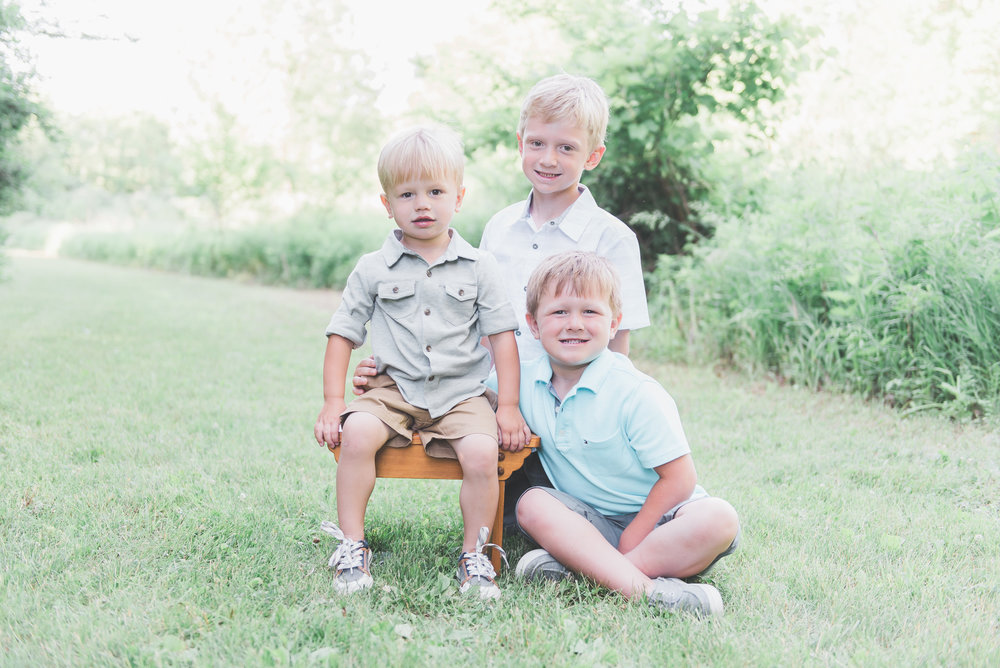 3 brothers photo session