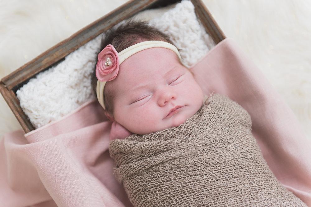 blush pink newborn