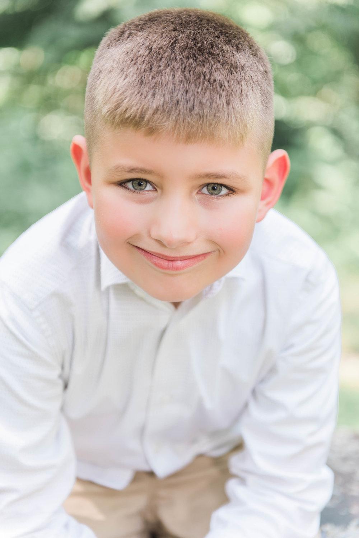 little boy close up image