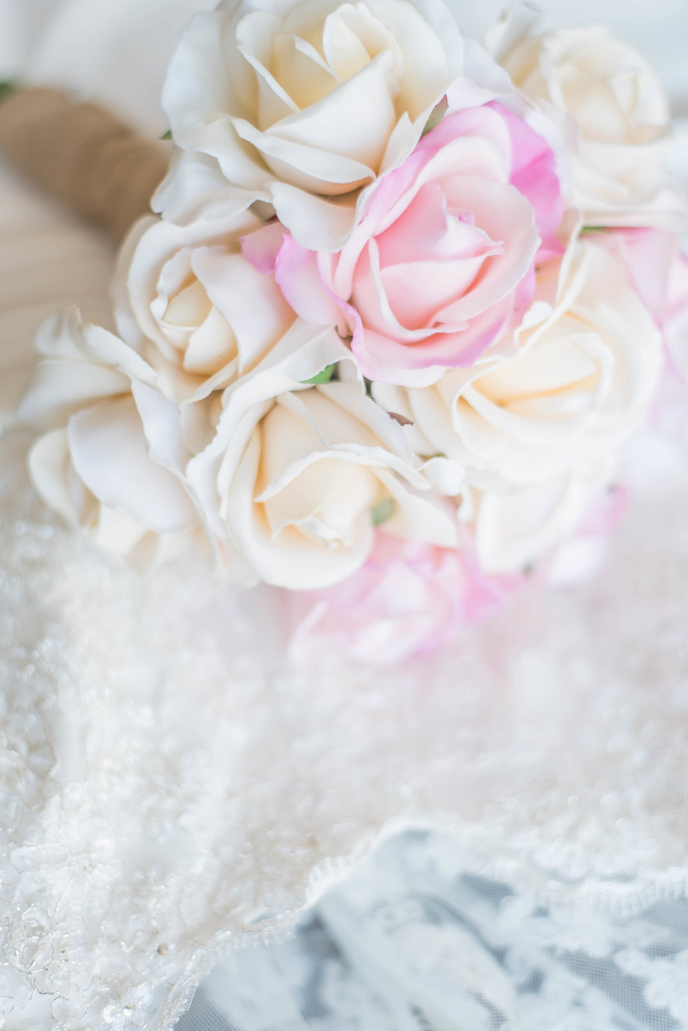 bouquet with dress