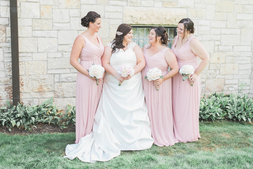 bridesmaids laughter