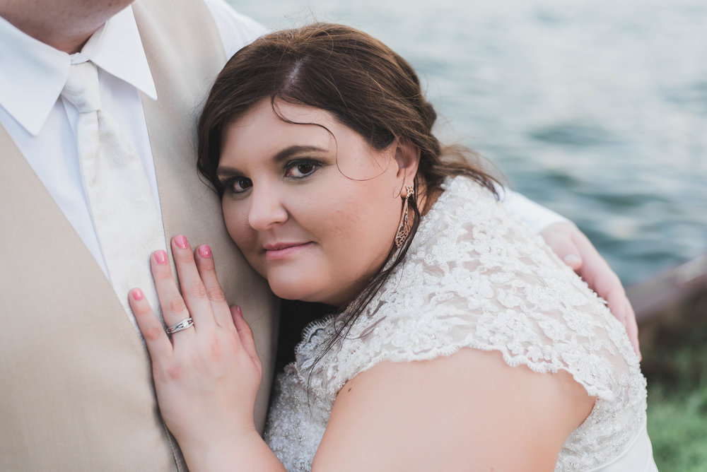bride beautiful gaze