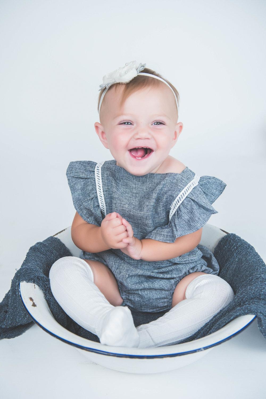 baby giggles photo