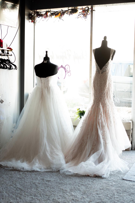 bridal storefront