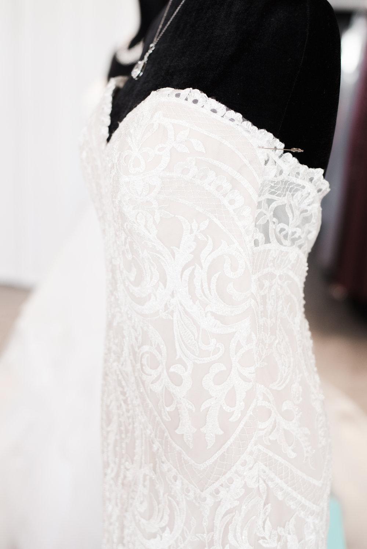 wedding dress profile