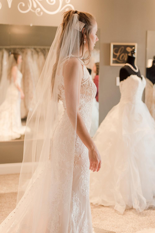 bridal sideways
