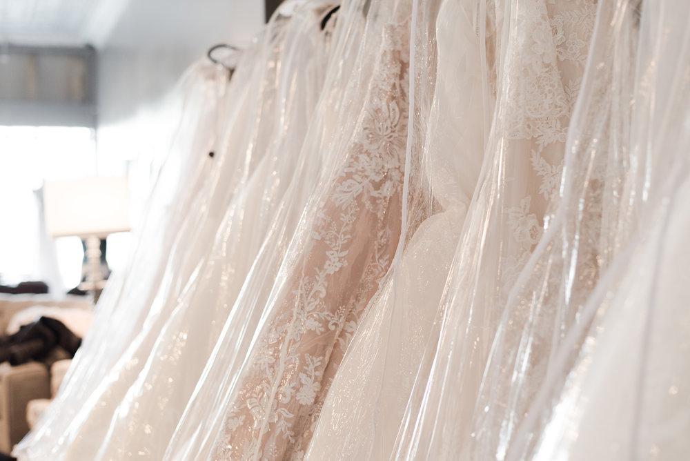 row of dresses