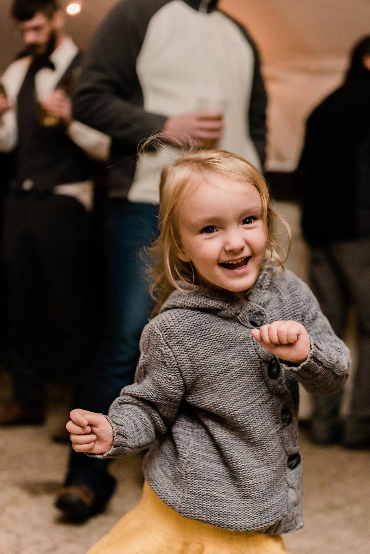 little girl dancing 1