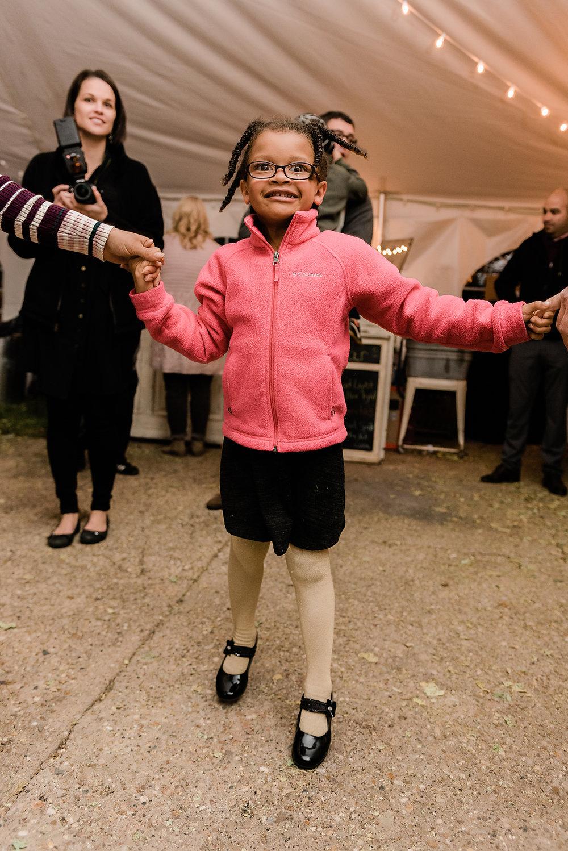 little girl dancing 2