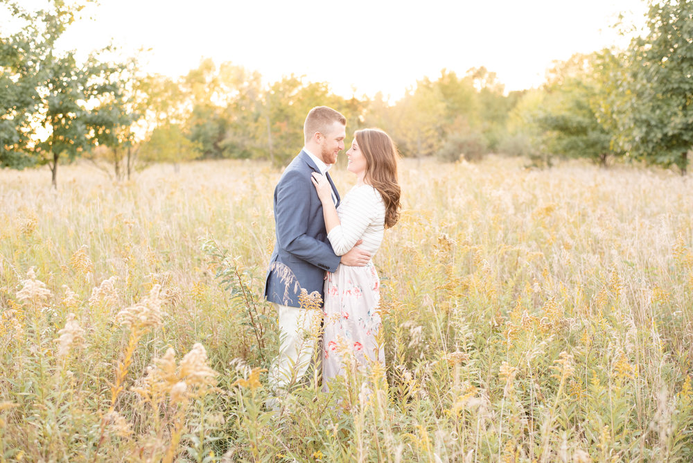 engagement session field
