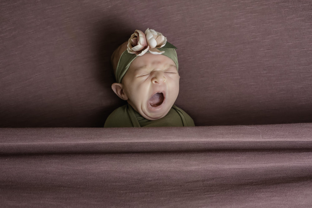 photos by Ariel- baby yawn