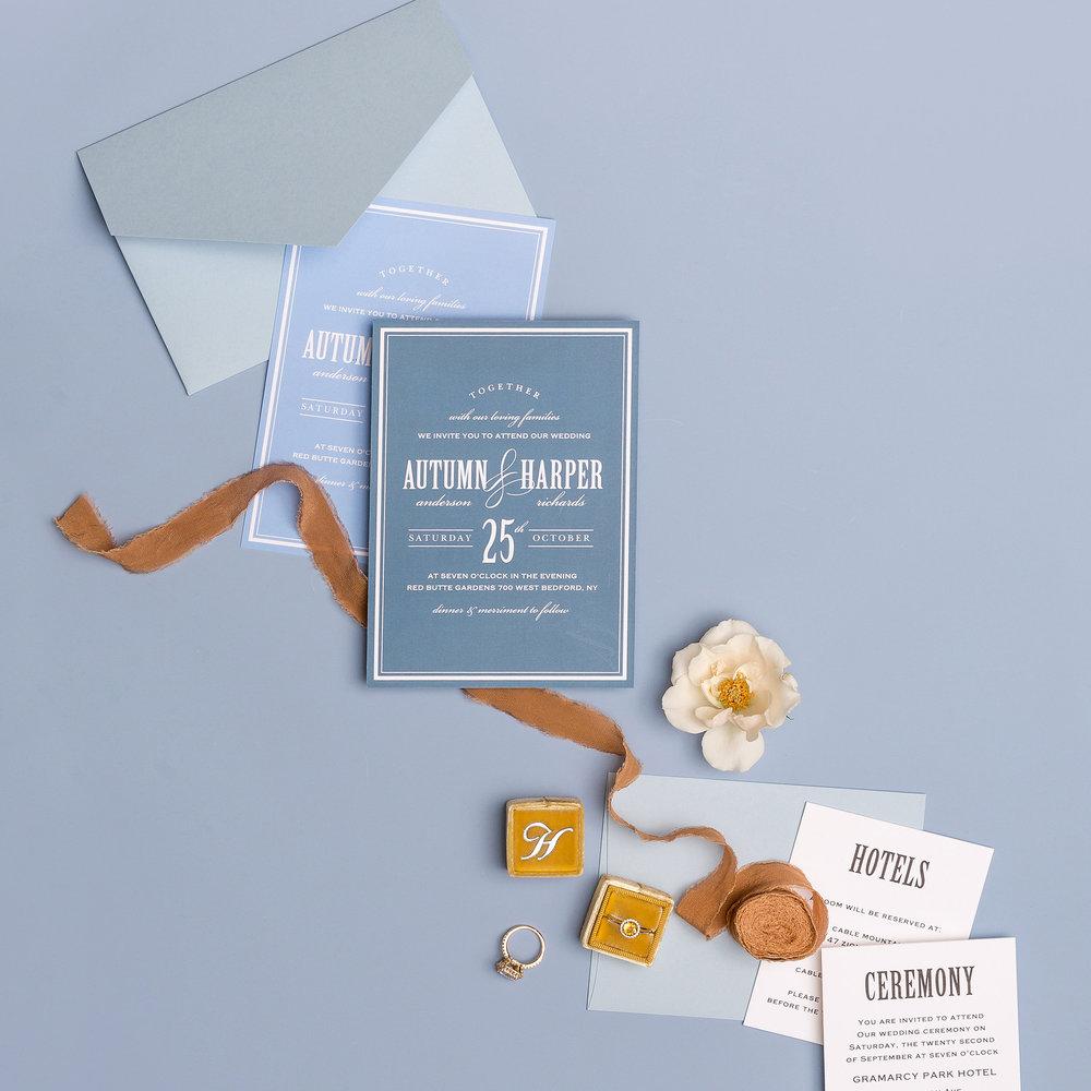 basic invite wedding invitation 1