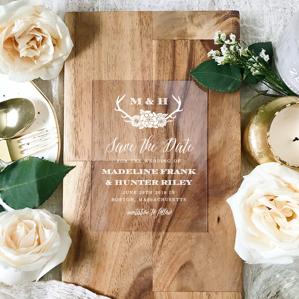 basic invite wedding invitation 4