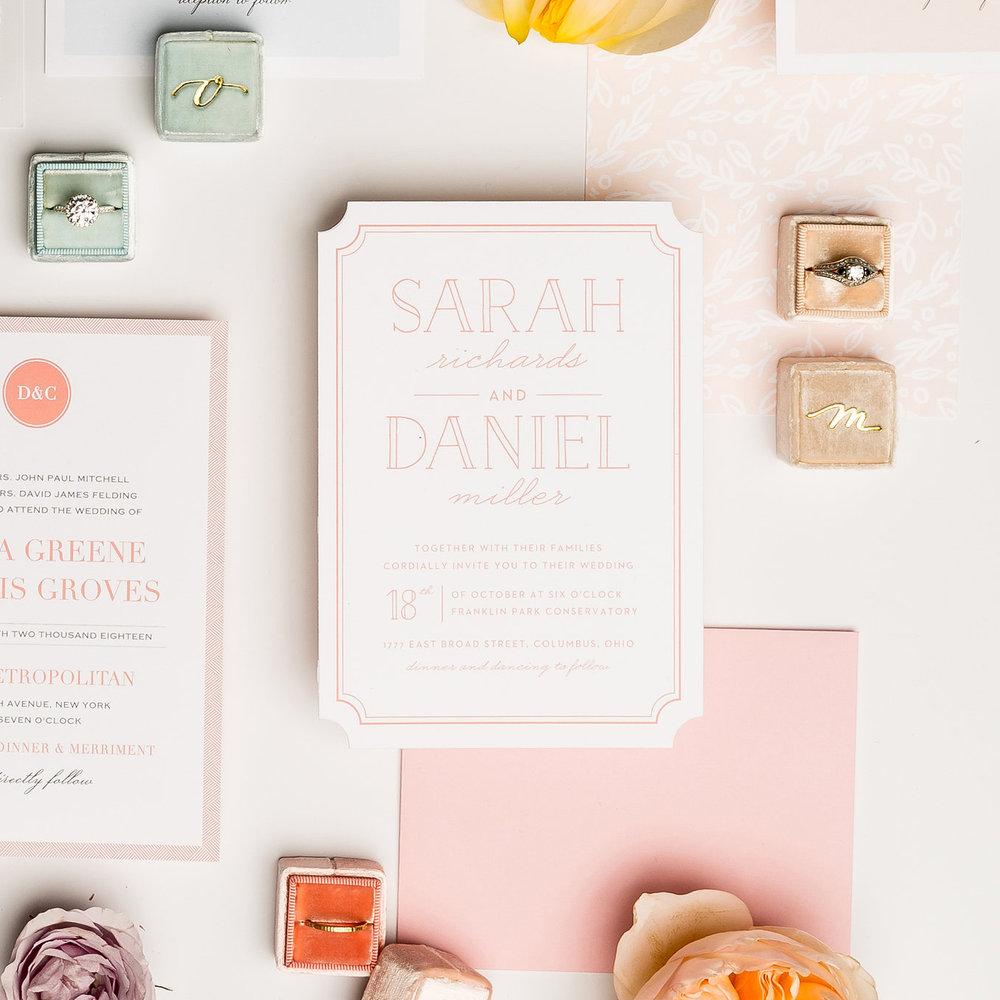 basic invite pastel perfection