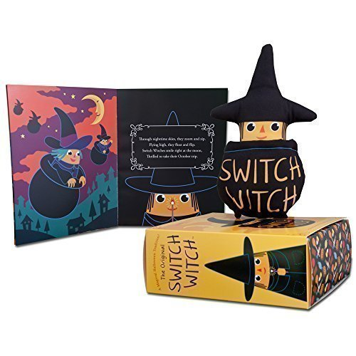 Click on the picture above to order the  Switch Witch from Amazon.com . It comes with your very own  Switch Witch doll and cauldron, and a beautifully illustrated Halloween Children's Storybook.  Best of all, a p ortion of all sales is donated to Operation Gratitude, which sends candy to our troops so that they can have a happy Halloween, too.