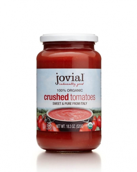 jovial organic crushed tomatoes