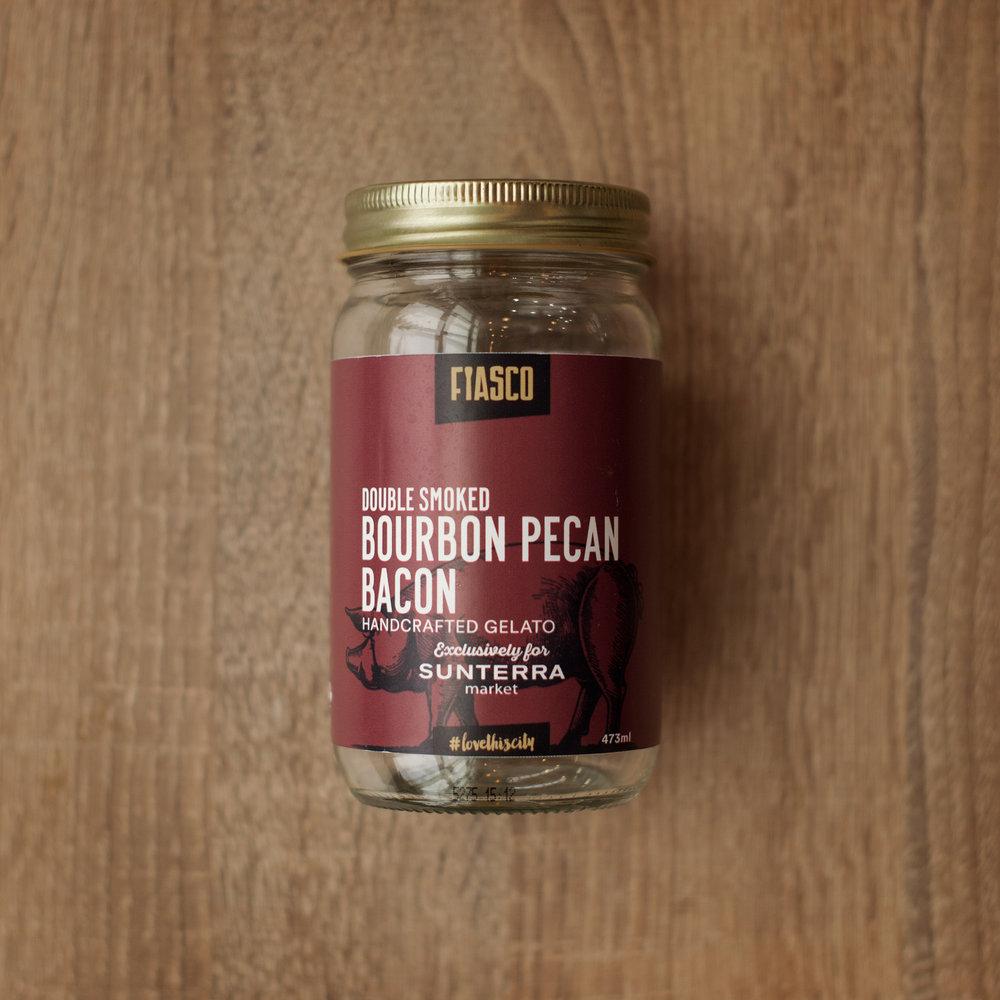 SUNTERRA MARKET - DOUBLE SMOKED BOURBON PECAN BACONPork Month