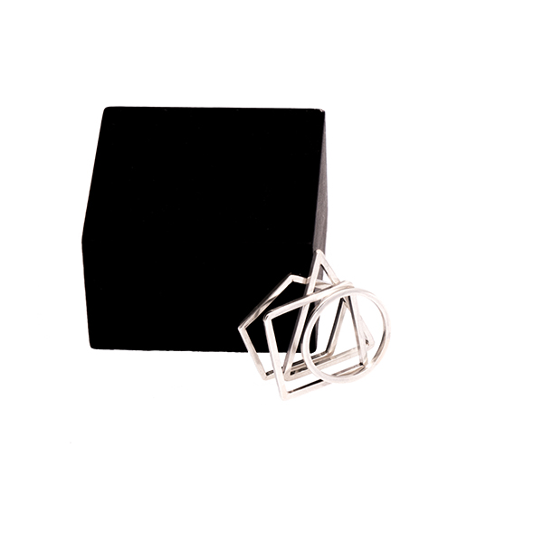 GEOMETRY STACKING RINGS